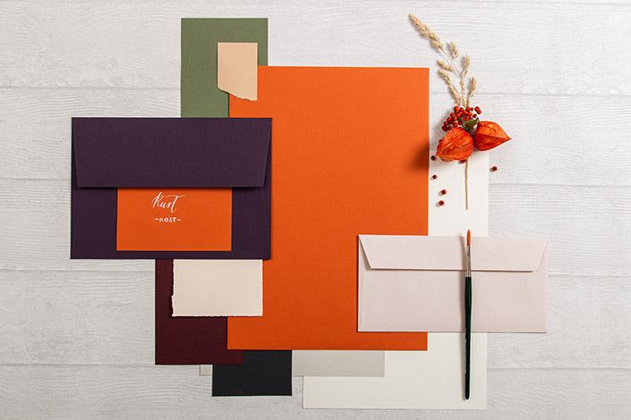 Colorplan Rust Papier für Hochzeiten