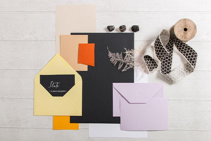 Colorplan Slate Papier für Hochzeiten