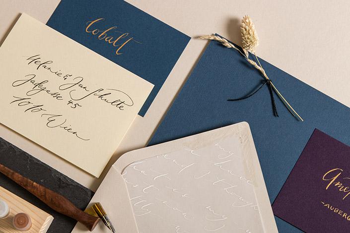 Colorplan als Kalligrafie Papier