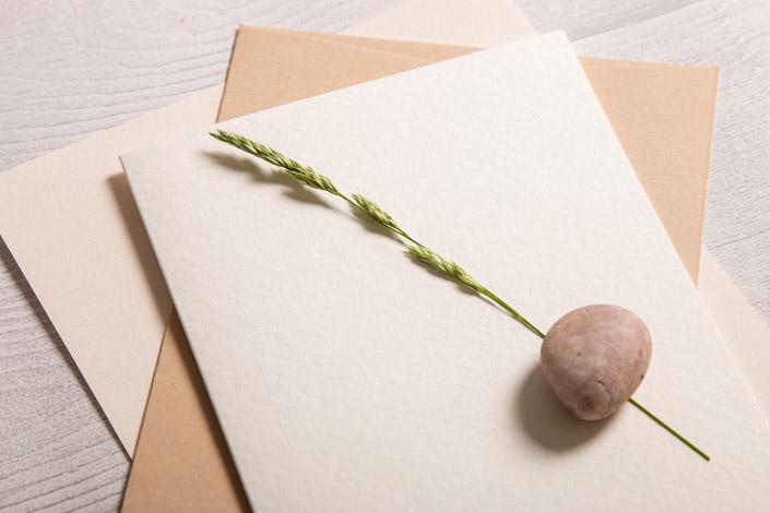 Blanko Aquarellkarten im Format DIN B6 (geklappt)