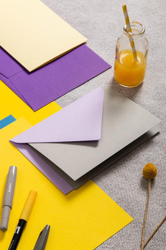 Papiere, Karten und Umschläge passend zu Illuminating