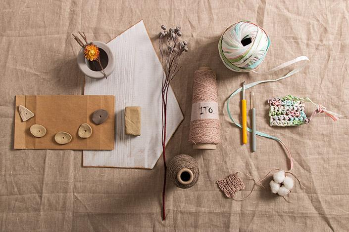 Trendschau 2021 für kreative DIYs aus Ton und Papiergarn