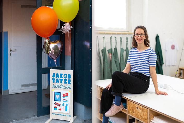 Siebdruck Atelier Jakob und Tatze
