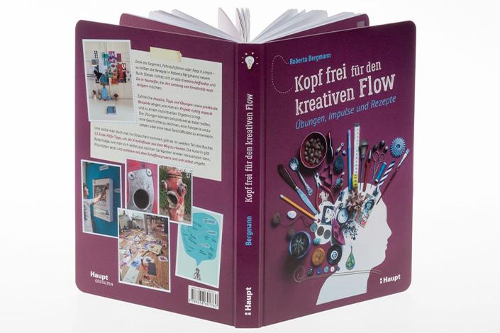 """Produktbild vom Sachbuch """"Kopf frei für den kreativen Flow"""" von Roberta Bergmann"""