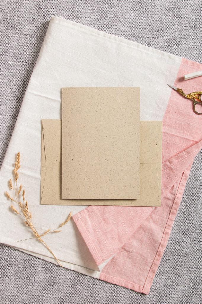 Graspapier eins der natürlichsten Papiere