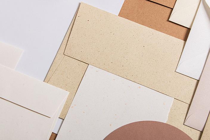 Recyclingpapiere im Papiermix