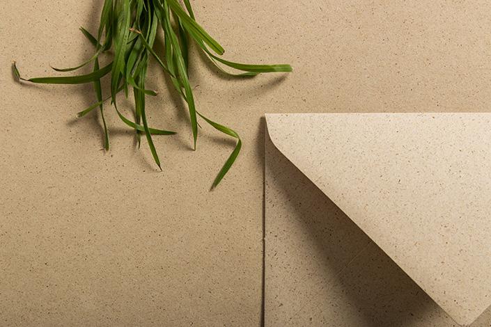 Graspapier bietet viele ökologische Vorteile