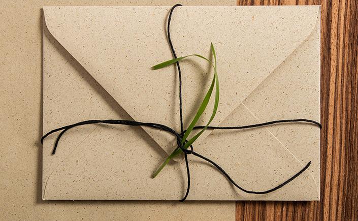 Graspapier ist nachhaltiges Naturpapier