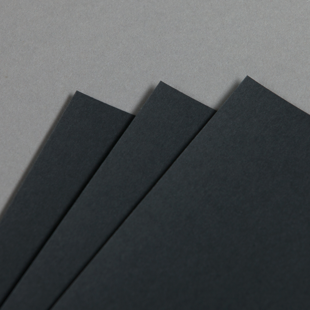 Hot Colors schwarzer Fotokarton